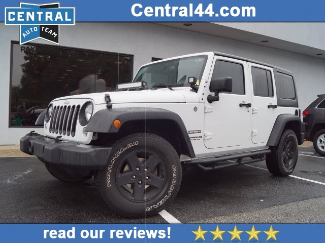 Pre Owned 2015 Jeep Wrangler Unlimited Sport 4x4 Sport 4dr Suv In