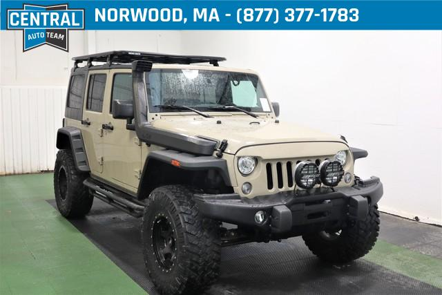 Certified Pre-Owned 2017 Jeep Wrangler Unlimited Unlimited Sahara