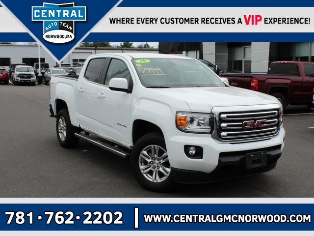 Certified Pre-Owned 2019 GMC Canyon SLE1
