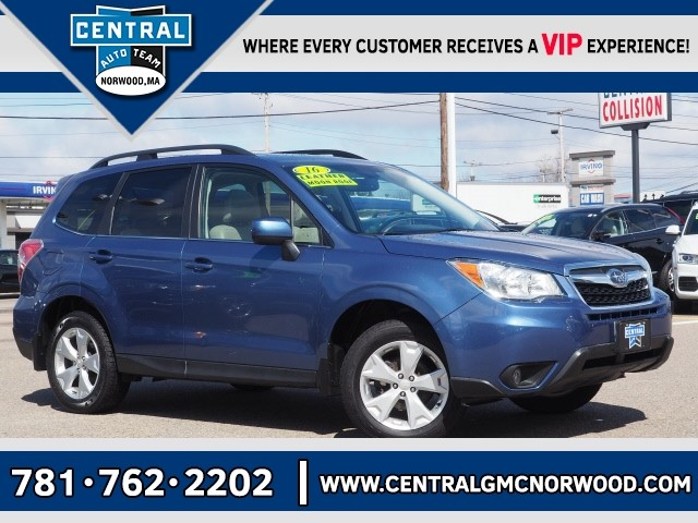 Pre Owned 2016 Subaru Forester 2 5i Limited